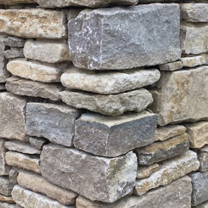 Dry stone walling usual traditional stone without the use of any mortar. Expertly built to last for years to come.