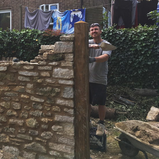 Wet Stone Walling from our skilled, experienced team.